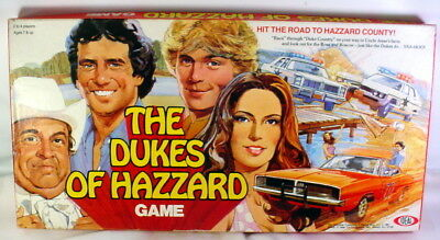 Dukes of Hazzard 1981 IDEAL Vintage Board game Complete Rare Clean