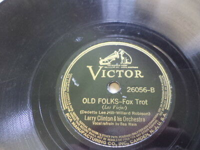 Later 30s Victor 78/Larry Clinton&His Orchestra/Bea Wain/Ford Leary