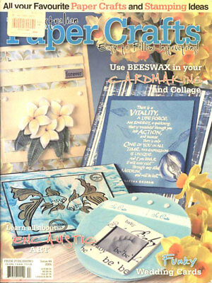 BOOK - AUTRALIAN PAPER CRAFTS Issue 44
