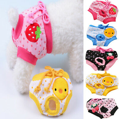Cute Pet Dog Puppy Diaper Pants Physiological Sanitary Short Panty Underwear Hot