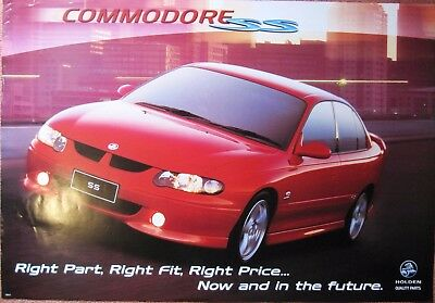 Large  HOLDEN  COMMODORE  Poster  (100cm x 690cm)