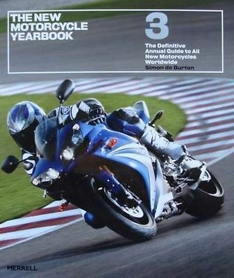LIVRE/BOOK  THE MOTORCYCLE YEARBOOK (annual guide moto,trail,enduro,muscle,retro