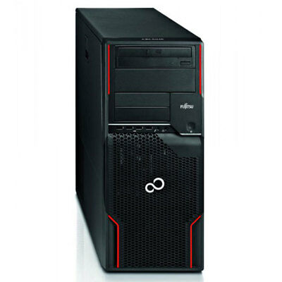 Fujitsu Celsius W510 Power QuadCore Xeon E3-1230 4x 3,2GHz 8GB RAM 1TB HDD Win10