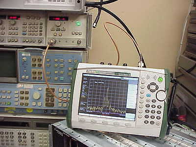 Anritsu MS2724B Spectrum Analyzer, 100 kHz - 20 GHz- Calibrated-Tested- Acc Incl