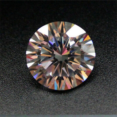 12MM AAAA+  White Sapphire Gems 10.69ct Round Shape Faceted Cut Loose Gemstone