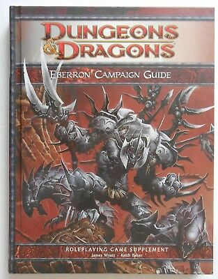 Dungeons & Dragons 4th ed - Eberron Campaign Guide with map