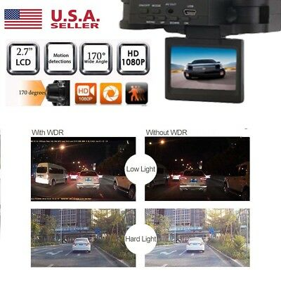 Dual Len HD1080P LCD GPS Car Recorder DVR Dash Camera Night Vision Cam Video  S2