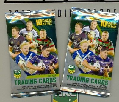 2017 NRL ESP Traders official packets only $1.99 each