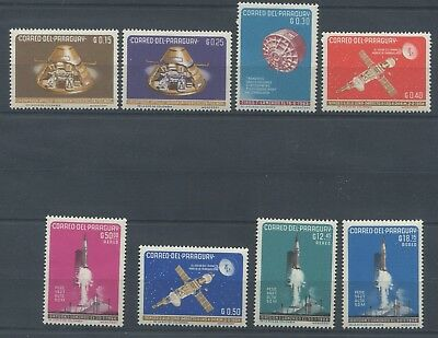 3588. Paraguay. Space. MNH.