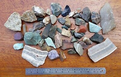 Collection of crystals, minerals, rocks & stones. Lapidary Collectable Gems