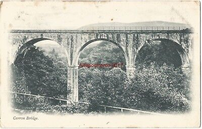 Scotland Carron Bridge nr Thornhill 1904 Vintage Postcard