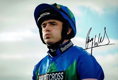 Ruby WALSH SIGNED Horse Racing 12x8 Photo 4 AFTAL COA Autograph Champion Jockey