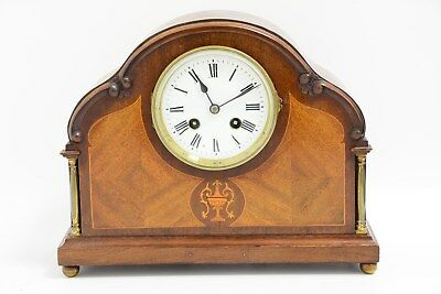 Vintage Japy Freres Wooden French Mantel Clock (JW4)
