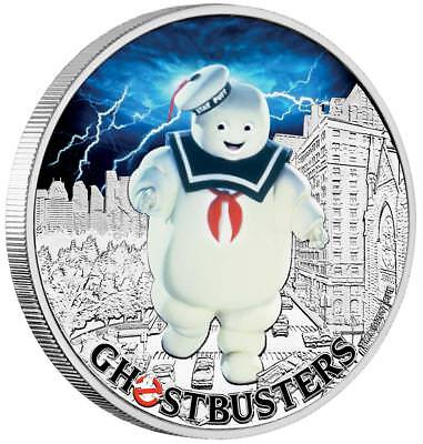Tuvalu - 1 Dollar 2017 - Ghostbusters - Stay Puft (3.) - Silber PP in Farbe