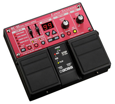 Boss RC-30 Loop Station Looping and Effects Pedal (NEW)