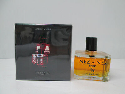 """ AMBRE A SADE DE NEZ à NEZ - PARIS "" PROFUMO EDP 100ml SPRAY"
