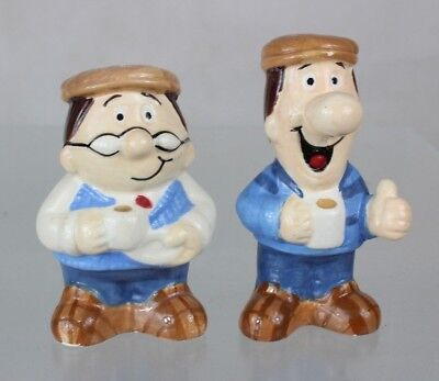 Tetley Salt and Pepper Pots ##HIN8JMH
