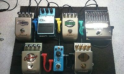 Guitar Effect Pedal Board 40x30cm  Pedalboard with velcro & cable ties. Freepost