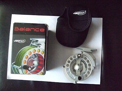Excellent Airflo Balance Fly Reel.unused In Box.