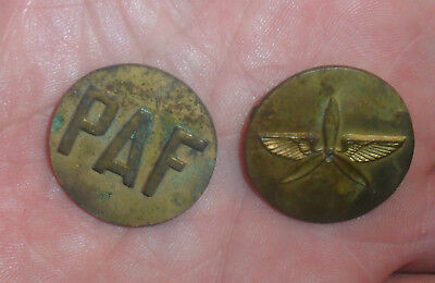 Pair of Philippine Air Force insignia ??