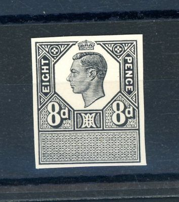 Great Britain GVI  8d  Imperforate Black Plate Proof unmounted MINT  (O1245)