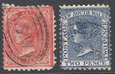 NEW SOUTH WALES 45-46 CXLS SCARCE $85 SCV 99c NO RESERVE