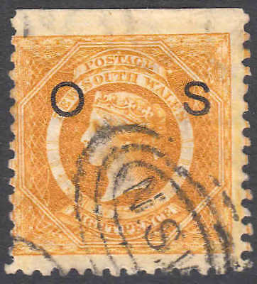 NEW SOUTH WALES O18 SG 425 INVERTED WMK $100+ SOUND 99c NO RESERVE