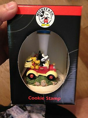 New Disney Mickey & Co. Mickey Mouse Collectible Cookie Stamp With Free Shipping