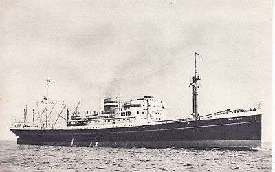 "Ship Post Card: Dutch Freighter Ship ""dalerdijk""  Built 1930"