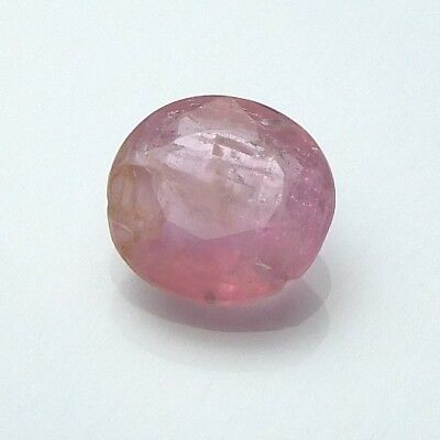 Interessanter Sehr Seltener Roter Beryll Oval 0,58 Ct