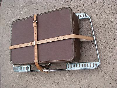 Hand Made in the USA Leather Luggage Straps for PORSCHE 356 Reutter Trunk Rack