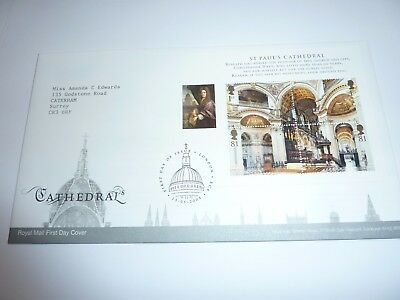 Cathedrals 2008 FDC