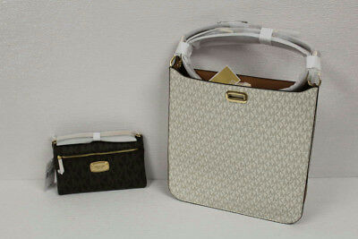 Lot of 2 Michael Kors Messenger and Wristlet