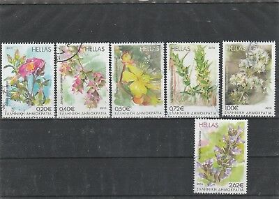 Greece Set  Used Euro Stamps 2016