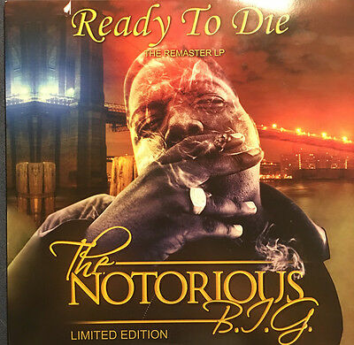 "Notorious Big "" Ready To Die "" New Mint *** Coloured Vinyl ***"
