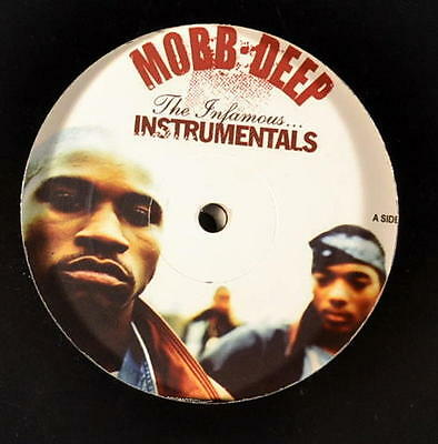 "Mobb Deep "" Infamous "" Instrumental New Uk Lp *** Double Coloured Vinyl ***"
