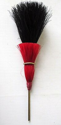 RIFLE REGIMENT SHAKO hat helmet headdress BLACK & RED HORSEHAIR PLUME