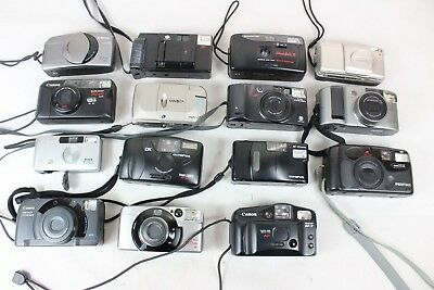 Collection of 15 good quality film cameras, Canon, Olympus, Pentax #BAK113JMH
