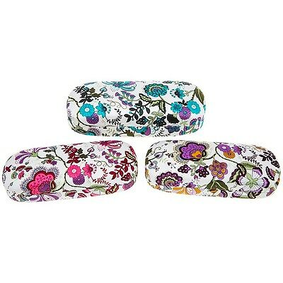 One Bright Jacobean Hard Shell Glasses Case - 3 pretty colourful designs to pick