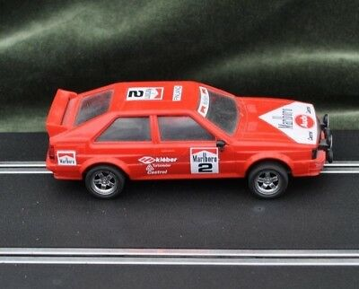 Scalextric 1/32nd Slot Car Red Audi Quatro 4070 RX Motor Not Boxed Used
