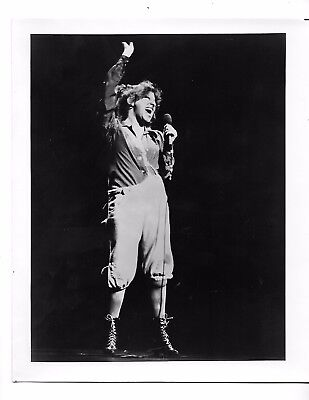 1976 Press Photo Hollywood Celebrity Bette Midler Singer Actress 8251
