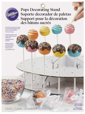 Wilton Cake Pops Decorating Stand Freestanding Holder Disposable