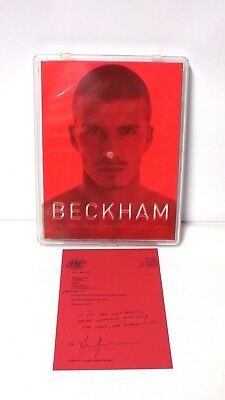 David Beckham - My World - Boxed Special Limited Edition Signed By Dean Freeman