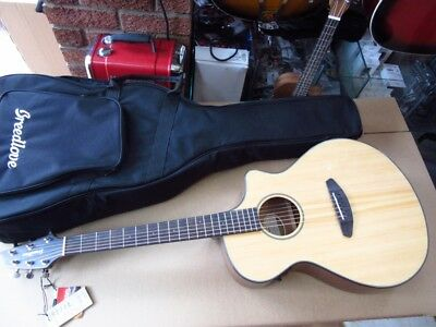 Breedlove Concert Electro Acoustic Guitar, Gig Bag, Bridge Worked On Rrp £529.00