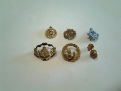 Ww1 British Army Sweetheart Brooches And Centres