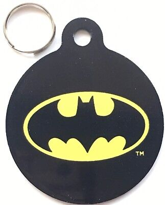 Batman Official Marvel & DC Comics - Dog/Cat Pet ID Tag 31 mm