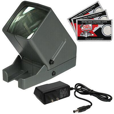 Zuma SV-3 LED 35mm 2x2 Film Slide Viewer with AC Adapter Kit