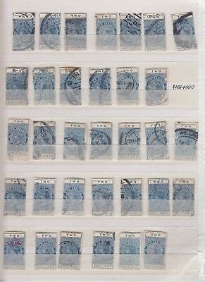 NEW ZEALAND POSTAL FISCAL COLLECTION LOT $700+ 2 SCANS 99c NO RESERVE