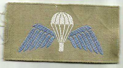 UK Parachute Badge Summer/Tropical Issue 1960 to Date