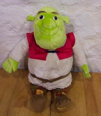 "TALKING SHREK THE OGRE 19"" Plush Stuffed Animal"